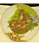 Southern Living Gallery Forest Families Bobcat Collector Plate - $5.00