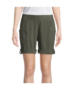St. John's Bay Active Woven Pull-On Bermuda Shorts New Size S - $14.99