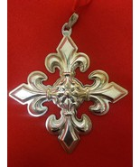 2005 Sterling Silver Christmas Cross Ornament by Reed & Barton - $69.00