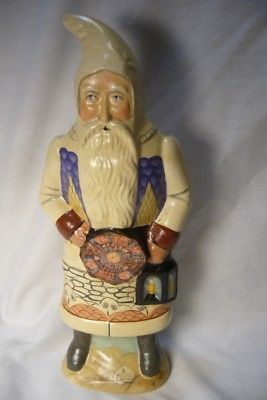 Vaillancourt Folk Art, Nantucket Santa Valentine Signed
