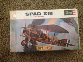 1971 REVELL SPAD XIII BIPLANE 1/72 SCALE MODEL KIT - $24.75