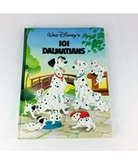 101 Dalmatians 1992 Walt Disney Childrens Large Book Hardcover Twin Books - $21.99