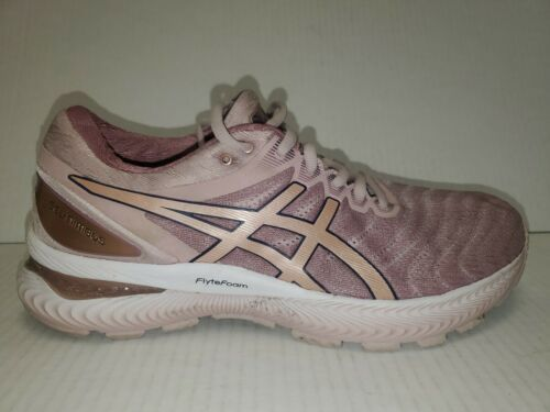 Primary image for Asics 1012A587 GEL-NIMBUS 22  Rose Gold Women Size 10 Runni Shoes NWB