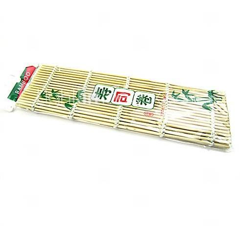 Bamboo Material Hand Roller Japanese Sushi Rolling DIY Maker Bamboo Mat