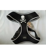 Hip Doggie Dog Harness Vest Black Skull Breathable High Quality Mesh Pet... - $36.40