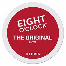 Eight O'Clock Coffee The Original, Single Serve Coffee K-Cup Pod, Medium Roast,  - $33.23