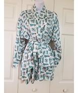 Florida Marlins Baseball Women Silk Robe Size S NWT - $29.69