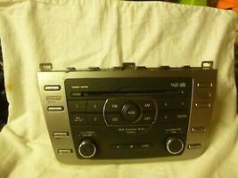 09 10 Mazda 6 Radio 6 Cd Mp3 WMA Face Plate GS3N669RXD PRW19 - $29.70