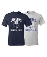 Cowboys Leighton Vander Esch Training Camp Jersey T-Shirt - $22.99+