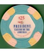 $25 Casino Chip, President, St Louis, MO. I34. - $12.50