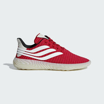 adidas Sobakov Scarlet Red Core Black White BD7572 sz 9.5 Men's Original... - $44.95