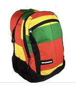 Rasta Backpack W/ Laptop Protection - $45.00