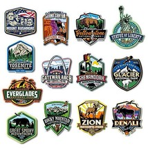 U.S. National Parks Magnet Set by Classic Magnets, 16-Piece Set, Discover Americ - $67.19