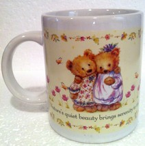 Hallmark Serenity Bears Coffee Mug Gourmet Gifts Houston Harvest Item # ... - $5.93
