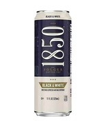 1850 By Folger Coffee Black & White Sweetened Espresso Beverage 11 oz 6 count - $19.79