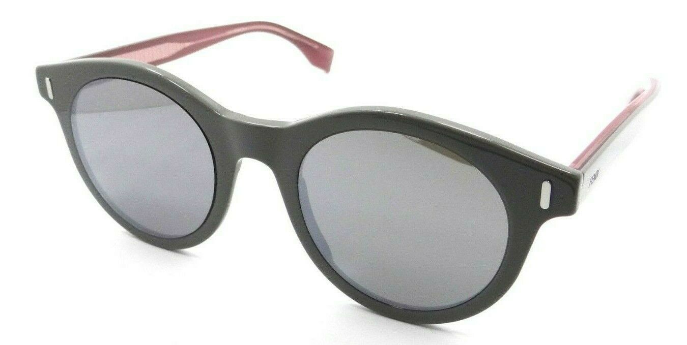 Primary image for Fendi Sunglasses FF M0041/S KB7T4 50-22-150 Grey / Silver Mirror Made in Italy