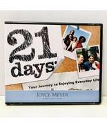 Joyce Meyer 21 Days: Your Journey To Enjoying Every Day Life Three CD Se... - $9.95