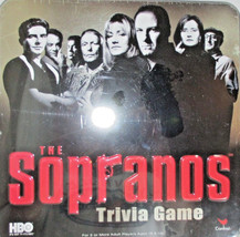 The Sopranos Trivia Game HBO in Collectors Tin (NIT) - $24.95