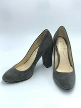 "Jessica Simpson 8.5 Belemo Gray Suede Pumps 4"" High Heels Shoes - $38.99"