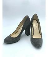 "Jessica Simpson 8.5 Belemo Gray Suede Pumps 4"" High Heels Shoes - $38.99"