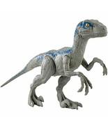 JURASSIC WORLD LARGE BASIC Velociraptor Blue - $28.41