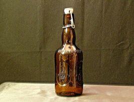 Brauer Bier Amber Brown Beer Bottle AA18 - 1155 Old Vintage image 5