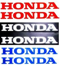 Honda Decal, 4 SIZES, 3 COLOR, x2, 5 YEAR WARRANTY Motorcycle CBR ATV CR... - $4.50+