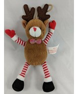 "Russ Reindeer Mini Plush Ornament 6.5"" Stuffed Animal toy - $6.26"