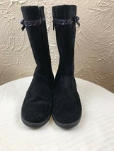 NWT GYMBOREE Fancy and Fun Black Boots Girls 2 - $13.98