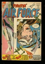 FIGHTIN' AIR FORCE #21 1960-CHARLTON WAR COMICS G - $25.22