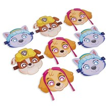 Paw Patrol Girls Masks Party Accessory 8 Per Per Package 3 Styles NEW - $6.44
