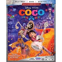 Disney's Coco (Bluray + DVD, No Digital) Like New  - $14.95