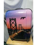 "IT Luggage Limited Edition San Francisco Bridge Scene 20"" x 15"" Suitcase... - $74.25"