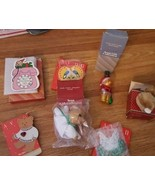 LOT OF 7 VINTAGE AVON CHRISTMAS ORNAMENTS All  In Box Assorted - $20.34