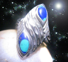 HAUNTED RING ALEXANDRIA'S TEAL STAR ACCELERATE RETURNING LOSSES SECRET MAGICK  - $4,528.89