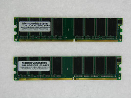 2GB (2X1GB) MEMORY FOR FOXCONN 848P7MB-S 848PAB-S 865G7AF-8EKS 865GV7AF-8EKS