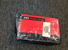 2005 Dodge Stratus Coupe Factory Owners Operators Owner Manual Oem Booklet New - $21.78