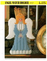 Plastic Canvas Pattern - Angel Match Holder - Annie's Home Decor - $1.97