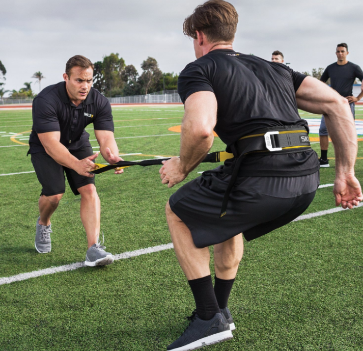 SKLZ Force Absorbing Handles Release Resistance Training Acceleration Trainer