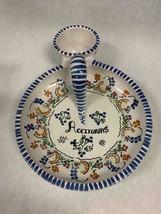Cruz Spanish Ceramic Puente del Arzobispo Spain Olive Dish Tapas Aceitunas - $49.49