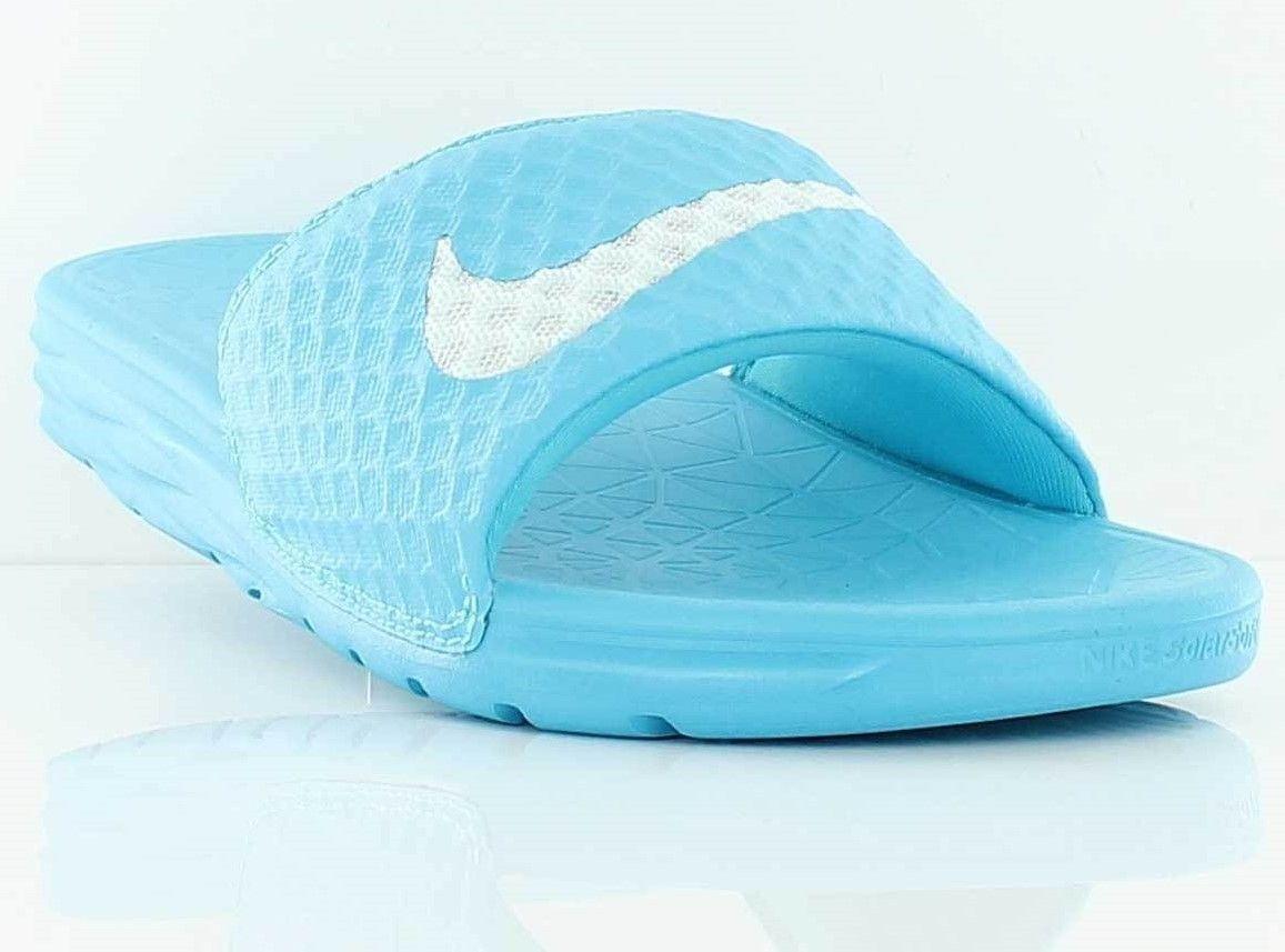 brand new fbb96 14d86 New Nike Benassi Solarsoft Slide Sandals and 50 similar items. 57