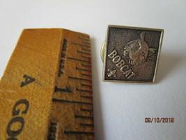 Boy Scouts Bobcat Fleur de Lis Metal Lapel Pin Scouting Award Square -A6-33 - $7.69