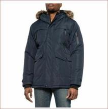 new POINT ZERO men jacket coat parka vegan 7358233/SIE black sz XL $250 - $89.09