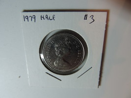 1979 Canadian 50 cent  coin A842 - $3.44