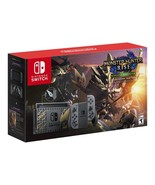 Nintendo Switch with Gray Joy-Con - MONSTER HUNTER RISE Deluxe Edition -... - $624.00