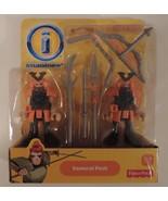 Fisher-Price Imaginext Samurai Pack of 2 set # X7609 - New - $14.00