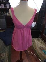 New J Crew Pink Tank Top Shirt  Clothing  Large  Cotton Women's Flattering - $17.35