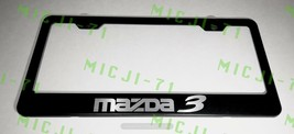 Mazda 3 Stainless Steel License Plate Frame Rust Free W/ Bolt Caps - $11.99