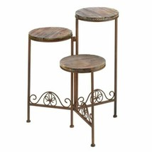 Rustic Triple Planter Stand - $53.45