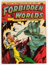 Forbidden Worlds Comic Book #1, ACG 1951 VERY GOOD+ - $425.62